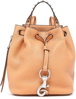 Rebecca Minkoff Studded Pebbled-leather Backpack