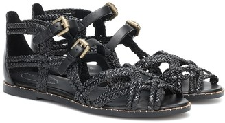 See by Chloe Braided leather sandals