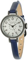 Tokyobay Tokyo Bay T2033-BL Women's Stainless Steel Leather Blue Band Dial Watch