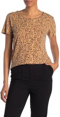 Cotton On Leopard Crew Neck T-Shirt