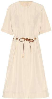 Tory Burch Belted cotton-blend dress