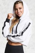 Forever 21 Active Believe Graphic Hoodie