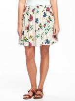 Old Navy Floral Circle Skirt for Women