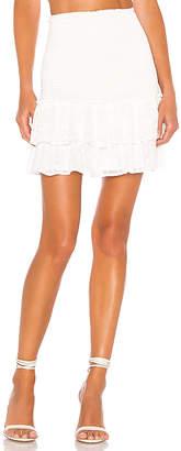 BB Dakota Girl Meets Ruffle Mini Skirt