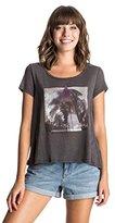 Roxy Junior's Shades Of Palm Short Sleeve Swing T-Shirt