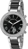 U.S. Polo Assn. Women's USC40085 Black Dress Watch