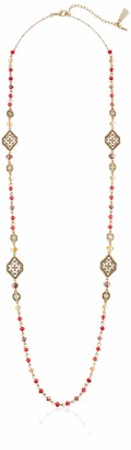 lonna & lilly Women's 36 Inch Gold Strand Necklace