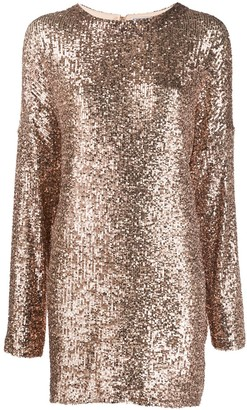In The Mood For Love Alexandra sequinned mini dress