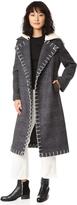 Edun Long Double Breasted Coat
