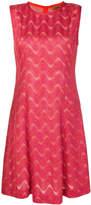 Missoni metallic thread dress