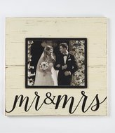 Mud Pie Wedding Collection Mr. & Mrs. Deluxe Frame