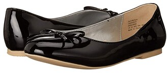 Janie and Jack Bow Flat (Toddler/Little Kid/Big Kid) (Black) Girl's Shoes