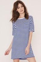 Forever 21 FOREVER 21+ Striped T-Shirt Dress