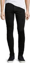 Cheap Monday Tight Slim-Fit Denim Jeans, Black