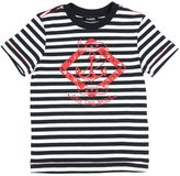 Diesel Stripes Printed Cotton Jersey T-Shirt