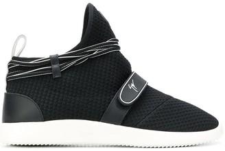 Giuseppe Zanotti Logo Sock Sneakers