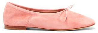 Mansur Gavriel Dream Suede Ballet Flats - Womens - Light Pink