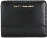 Marc Jacobs panelled compact wallet
