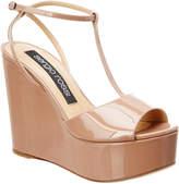 Sergio Rossi Sr1 Patent Platform Sandal
