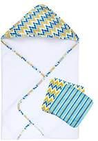 Trend Lab Levi 3 Piece Bath Bundle Box Set by