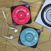 Oakdene Designs Personalised Record Vinyl Drinks Coaster