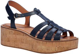 Kate Spade Mabel Ankle-Strap Cork Sandals
