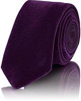 Penrose London Men's Velvet & Satin Necktie