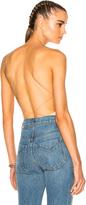 Alexander Wang Modal Spandex Crossback Bodysuit