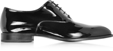 Fratelli Rossetti Black Patent Leather Lace Up Shoe