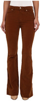 7 For All Mankind Fashion Flare in Cognac