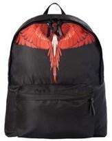 Marcelo Burlon County of Milan Men's Black Polyamide Backpack.