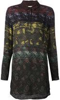 Mary Katrantzou 'Vice' long line shirt