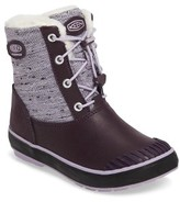Keen Toddler Girl's Elsa Waterproof Faux Fur Lined Snow Boot