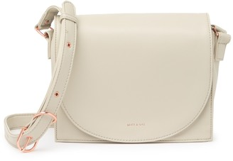 Matt & Nat Calla Loom Vegan Leather Crossbody Bag