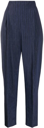 Romeo Gigli Pre Owned 1990s Tapered Trousers