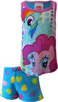 My Little Pony Rainbow Dash And Pinkie Pie Shortie Pajama for girls