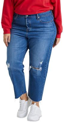 Levi's Curve 501TM Crop Plus Jeans