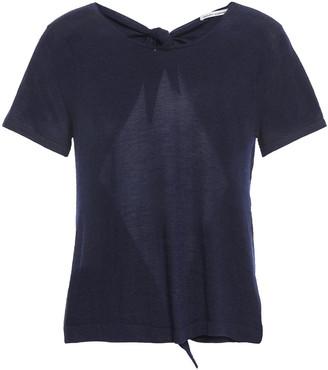 Autumn Cashmere Tie-back Cashmere Top