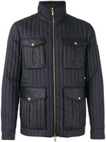 Moncler Gamme Bleu zip up padded jacket - men - Cotton/Polyamide/Cupro - 3
