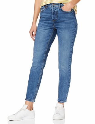 Pieces Women's Pccara Slim Mw Cr Mb224-ba/noos Jeans