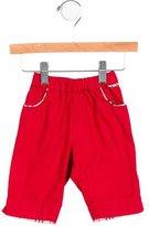 Burberry Boys' Nova Check-Trimmed Straight-Leg Pants
