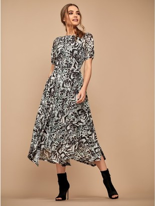 M&Co Sonder Studio leopard print dress