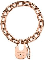 Michael Kors Chain Link Padlock Bracelet