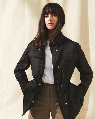 Jigsaw Twill Field Jacket