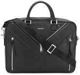 Diesel large messenger bag - men - Goat Skin/Leather - One Size