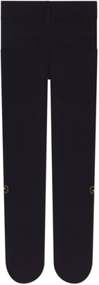 Gucci Nylon tights with crystal GG