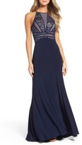 Women's Morgan & Co. Embellished Gown