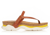Stella McCartney Altea faux-leather slip-on sandals