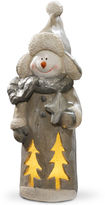 National Tree Co 18i Lighted Snowman Dcor Piece
