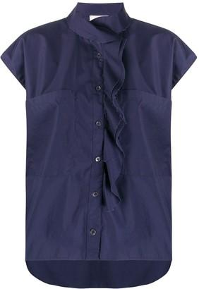 Barena Deconstructed Short-Sleeve Shirt
